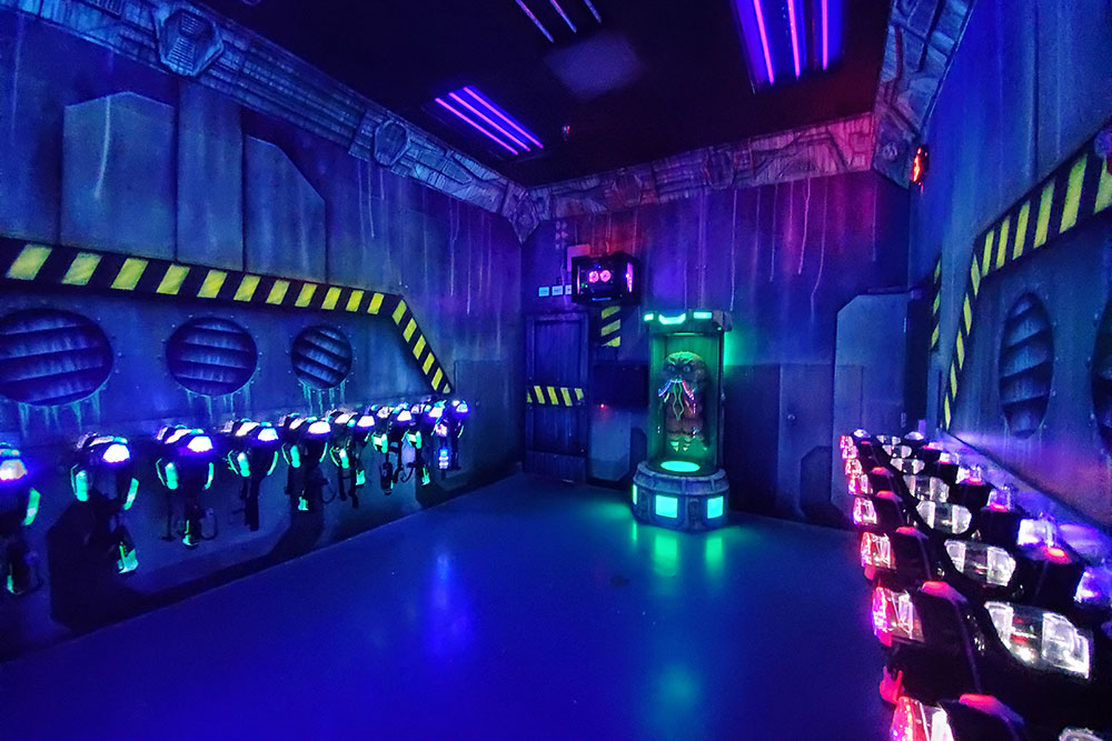 Beaverton Laser Tag Prep Area