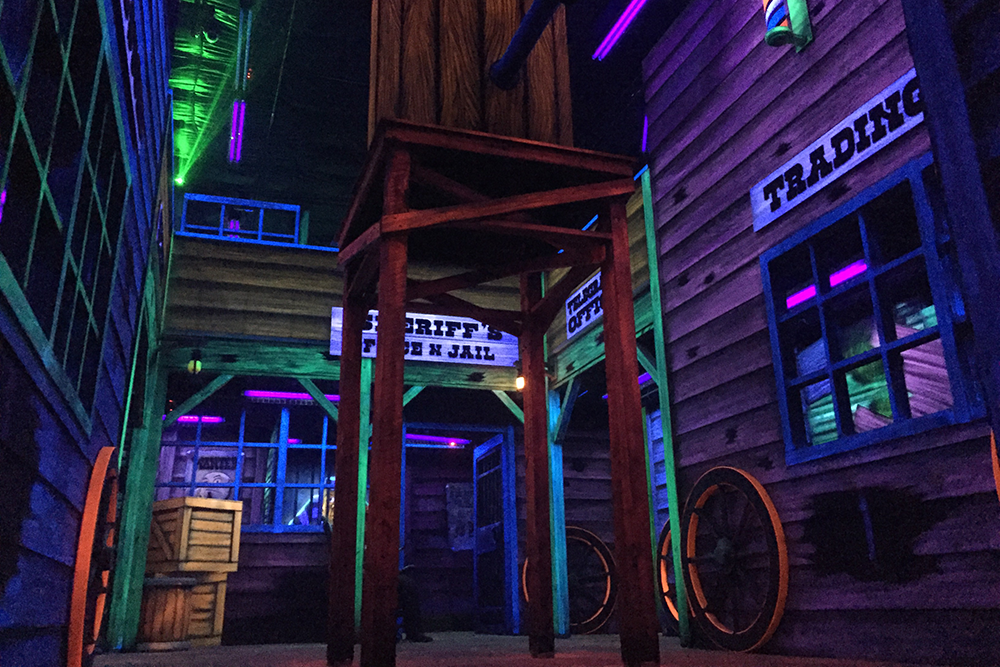 Gresham Laser Tag Old West Theme