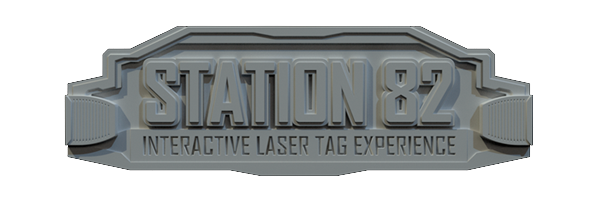 Station 82 Interactive Laser Tag Logo