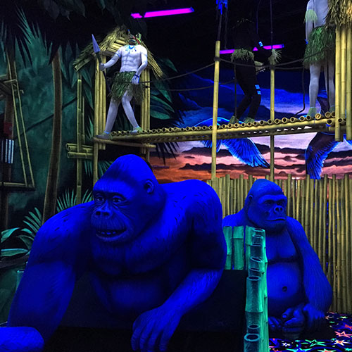 Mini Golf Gorillas