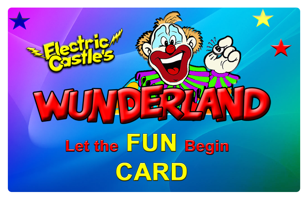 Wunderland Fun Card